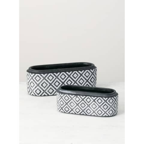 Oval Planters -Set of 2