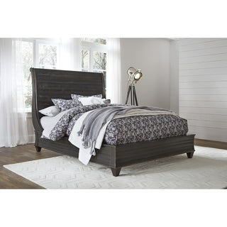 Link to Philip Solid Wood Full-Size Platform Bed in Dark Espresso Similar Items in Bedroom Furniture