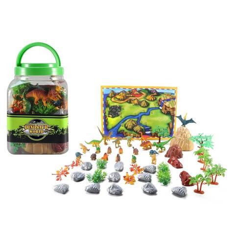 ATOZ 50-Piece Dinosaur Play Set