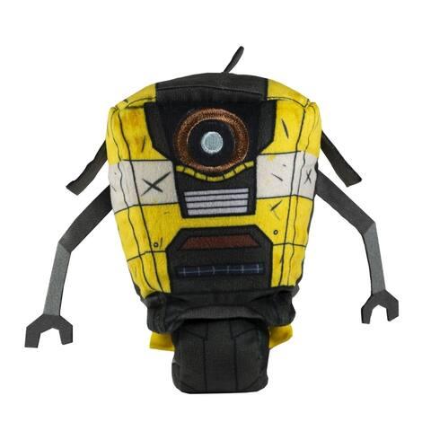 """Stubbins Claptrap: Borderlands - 6"""" Plush Toy - Black"""