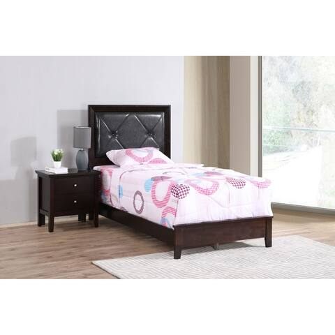 Primo Faux Leather Bed