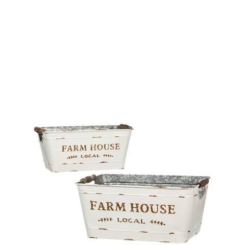 Farmhouse Rectangular Planter