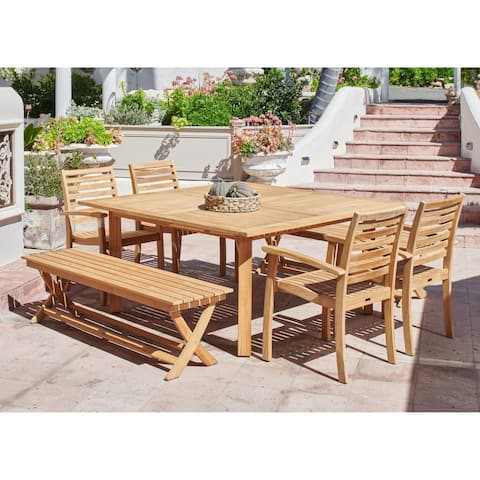 Hamilton Teak Outdoor Dining Table