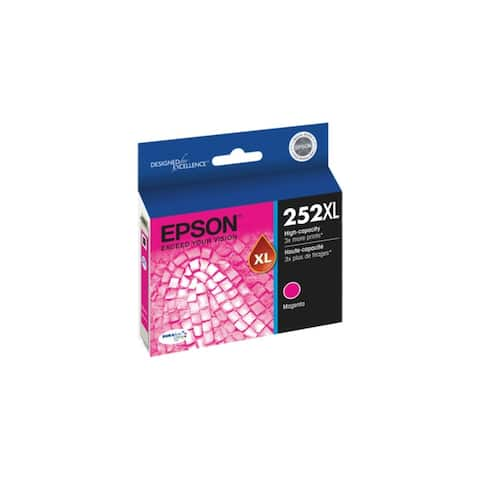 Epson T252XL320S DURABrite Ultra Ink 252XL Ink Cartridge - Magenta - 8' x 11'