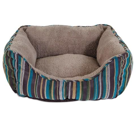 Aspen Pet Rectangular Lounger Pet Bed - 20 X 17