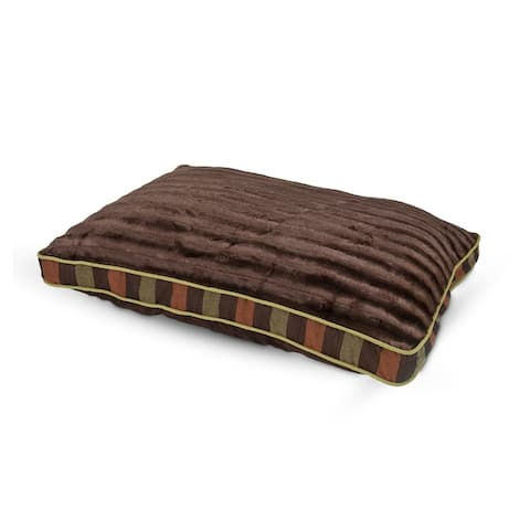 Petmate Fashion Gusseted Pillow Dog Bed - 40 X 29