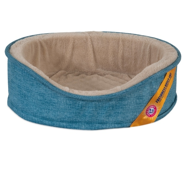 Arm & Hammer Oval Foam Lounger Dog Bed. Opens flyout.