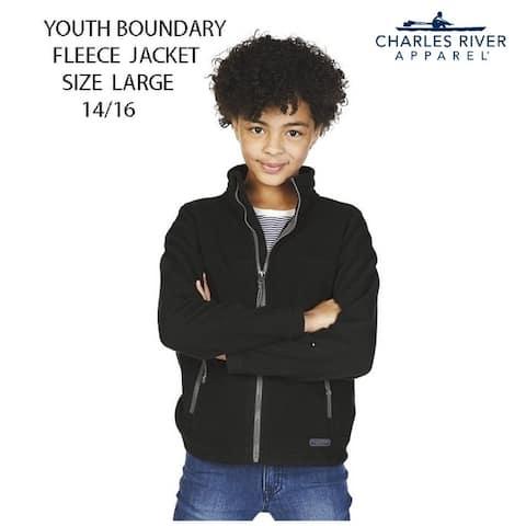 Youth Fleece Boundary Jacket Size Large