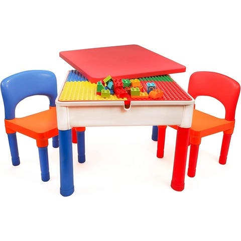Smart Builder Toys 3 in 1 Activity Table Craft and Construction Play Table