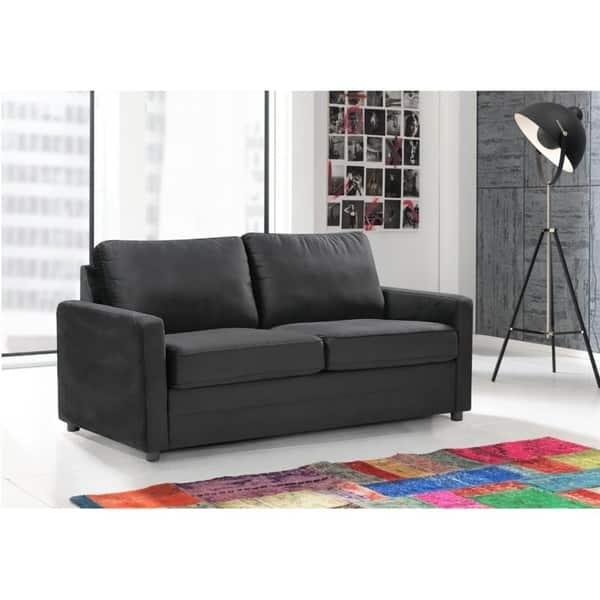 Knightsville Velvet 70 Square Arms Sofa Bed Overstock 31138590