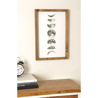 Link to Moon Phases Wooden Framed Art Print Similar Items in Art Prints
