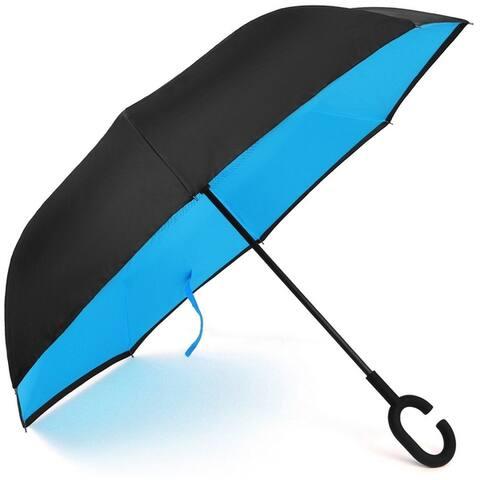 (2pc)Double Layer Inverted Umbrella, Windproof UV Protection Umbrella - 2pc