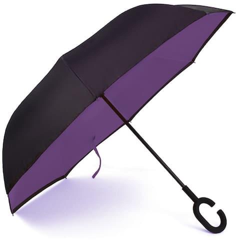 (5pc)Double Layer Inverted Umbrella, Windproof UV Protection Umbrella - 5pc