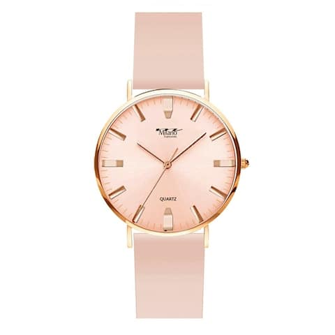 41MM Milano Expressions Silicon Band Watch