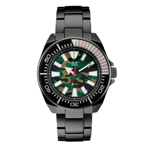 48MM Milano Expressions Metal Band Watch