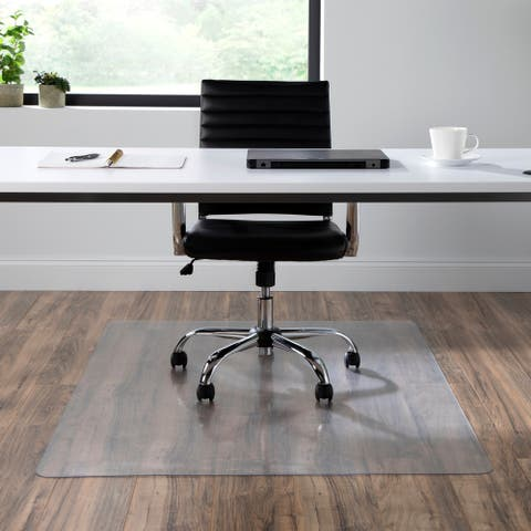 "OFM Essentials Collection 46"" X 60"" Chair Mat for Hard Flooring (ESS-8802HF)"