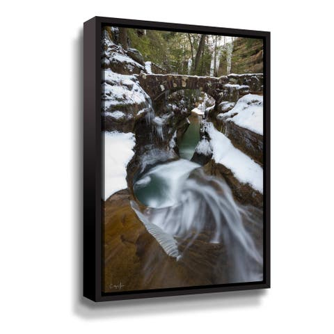 Hocking Hills Gallery Wrapped Floater-framed Canvas