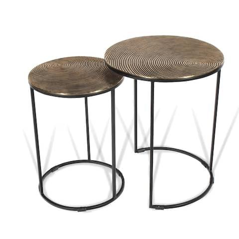 Othello Metal Nesting Tables, S2