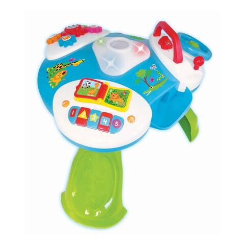 Kiddieland Delight and Discover Activity Table Toy - Green
