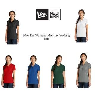 New Era Women's Moisture Wicking Polo