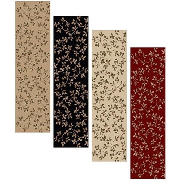 Olefin Virginia Floral Runner Rug (2'2 x 7'7) - 2'2 x 7'7