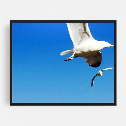United Kingdom Animals Beak Bird Birds Framed Wall Art Print