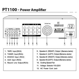 Pyle Power Amp Diagrams - Wiring Diagrams