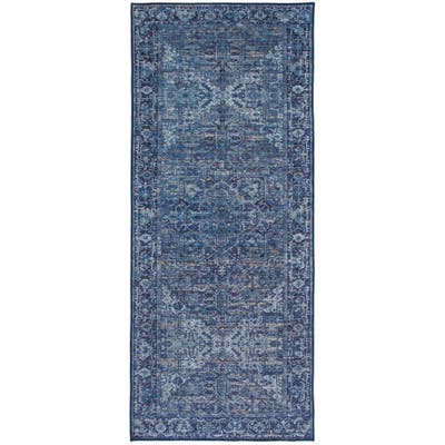 ReaLife Eco-friendly Vintage Distressed Traditional Rug