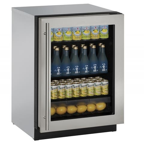 Glass Door Refrigerator 3000 Series SS Reversible- Special Order - Compact