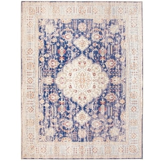 Link to ReaLife Machine Washable, Eco-Friendly Persian Distressed Rug Similar Items in Rugs