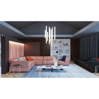 Link to Caden 24-inch LED Pendant with White Acrylic Similar Items in Pendant Lights