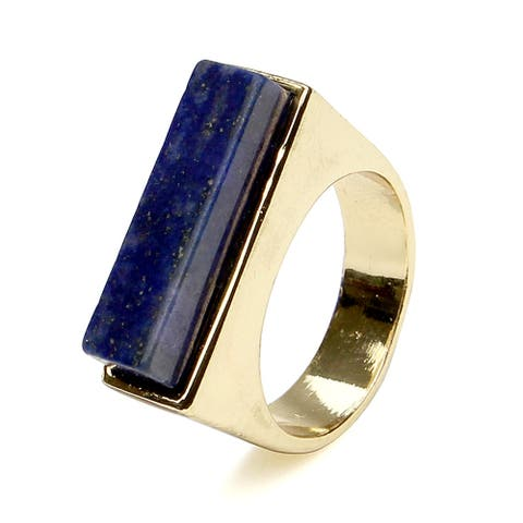 Gold Modern Style Stone Ring