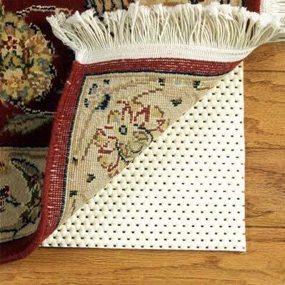 Cushioned Non-slip Pad (7'10 x 10'10) - Cream - 8' x 11'/Surplus