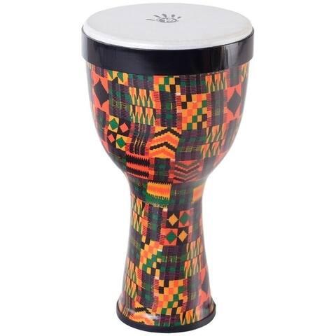 Twister Djembe Drum w/ Strap