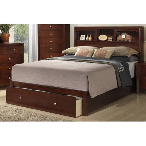 Bookcase Bed with Storage