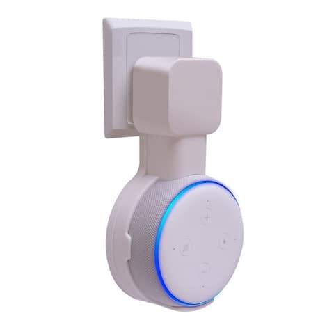 Wall Mount Holder For Amazon Echo Dot 3rd Gen Alexa Smart Home Speaker White
