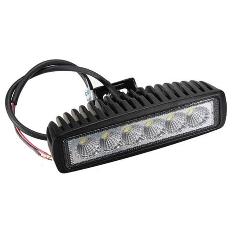 6Inch 18W LED Work Light Bar Flood Driving Lights Offroad