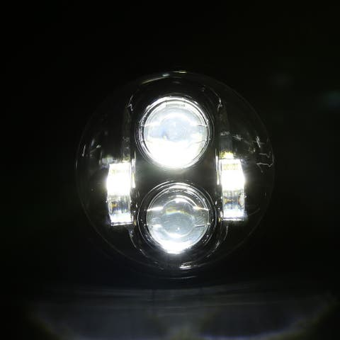 "5.75"" 40W 6000K White Light IP67 Waterproof LED Headlight"