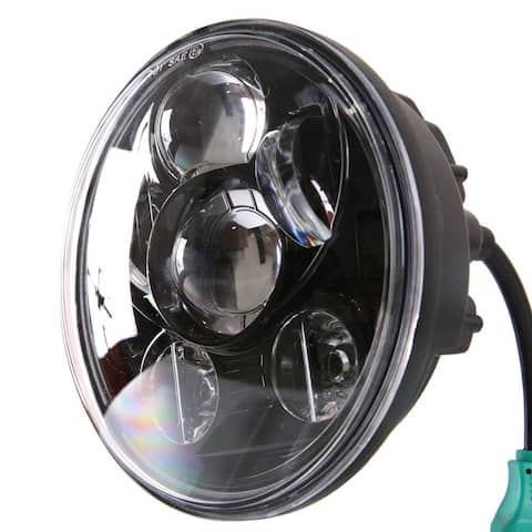 "5.75"" 45W 6000-6500K White Light IP-65 Waterproof LED Headlight"
