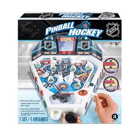 Merchant Ambassador Tabletop NHL Pinball Hockey Game - N/A