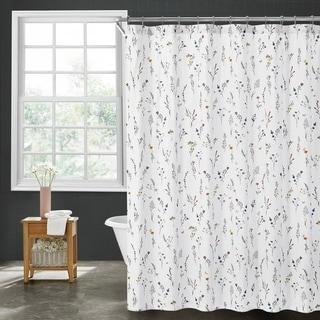 Brielle Home Sophie Floral Shower Curtain