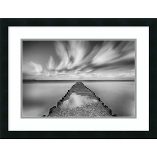 Link to Framed Wall Art Print Untitled (Pier) by Keren Or 26x20-inch Similar Items in Art Prints