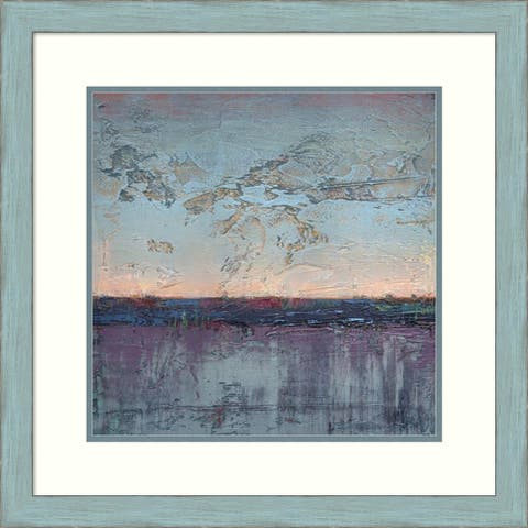 Framed Wall Art Print Light Variations I by Jeannie Sellmer 24.25 x 24.25-inch
