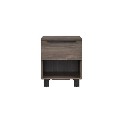 Rye Studio Suderland Ash Grey 1-drawer Nightstand