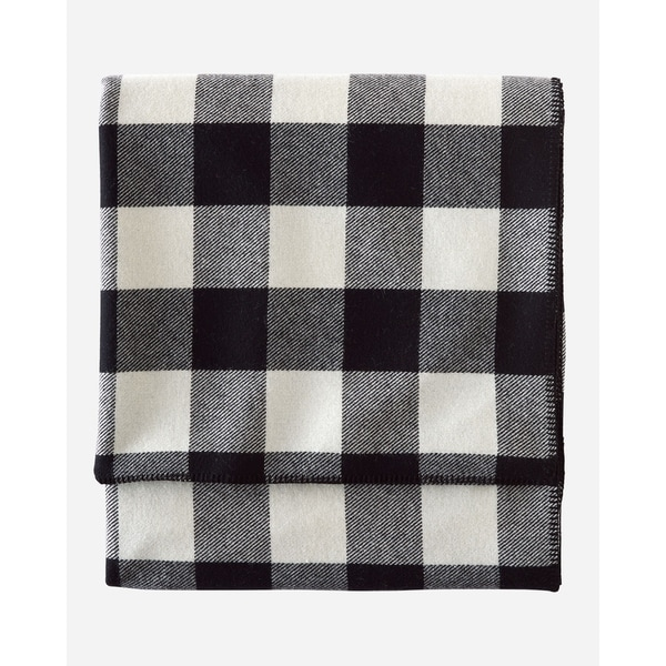Pendleton Eco-wise Rob Roy Ivory X-L Twin Blanket. Opens flyout.