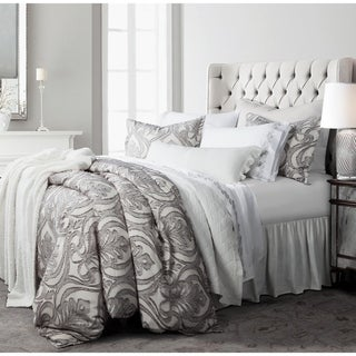 Link to HiEnd Accents 3 Pc Nicole Damask Duvet Set, Super Queen Gray Similar Items in Duvet Covers & Sets