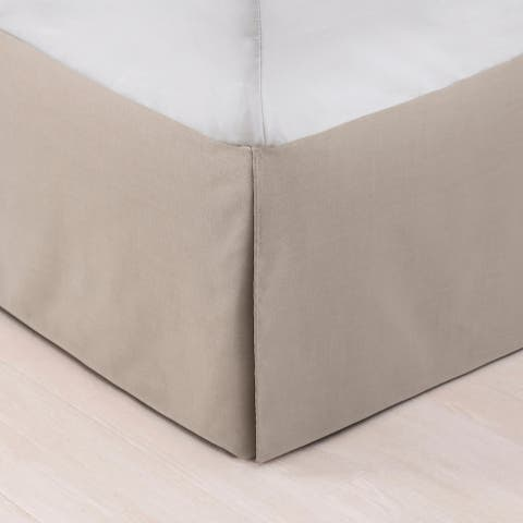 HiEnd Accents Trent Bed Skirt, King