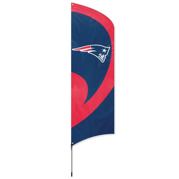 New England Patriots 8-foot Team Banner Flag