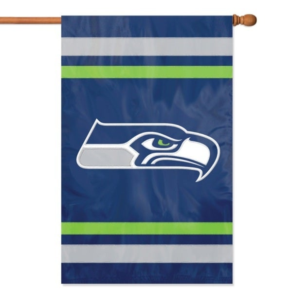 Seattle Seahawks Official Banner Flag