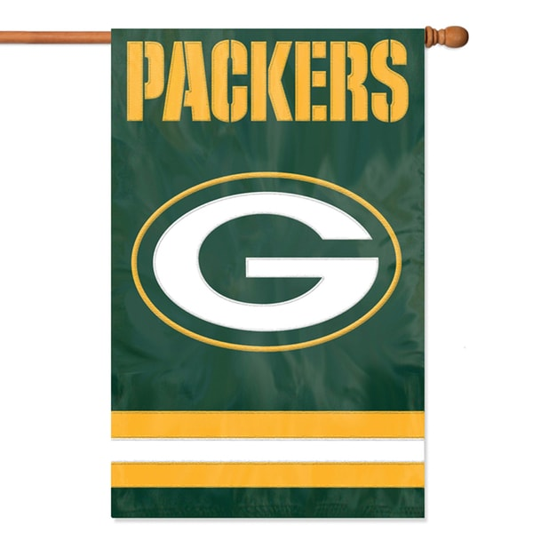 Green Bay Packers Official Banner Flag